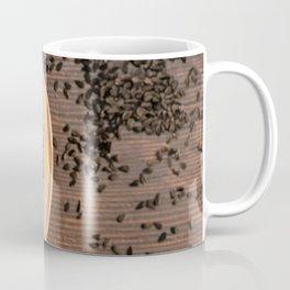 Black Nigella Sativa dry seeds portion Coffee Mug