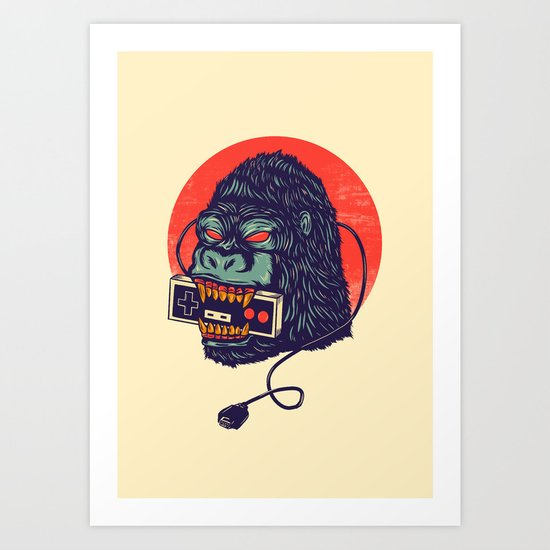 kong Art Print
