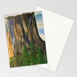 A climbers high Stationery Cards
