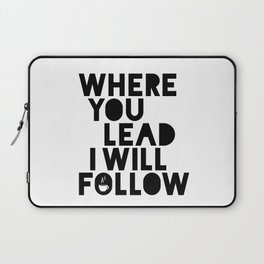Gilmore Girls Where You Lead Theme Song Laptop Sleeve