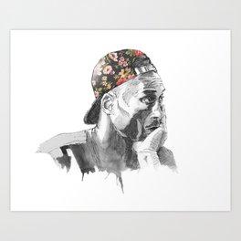 KobeBryant Art Print