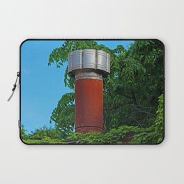 Old West End Mary Manse Building Chimney Laptop Sleeve