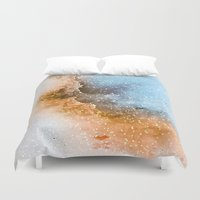 wizard Duvet Covers featuring Wizard Nebula by The Mute Robot Gallery