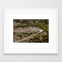 road Framed Art Prints featuring Road by PhotoStories