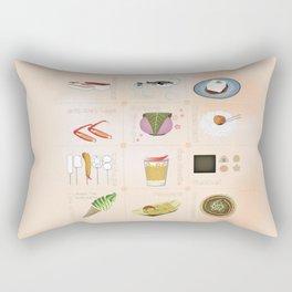 Japanese Food Rectangular Pillow