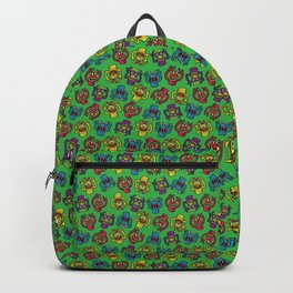 Retro Toy Finger Monsters Backpack