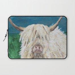 A Sweet Shaggy Highland Coo Laptop Sleeve