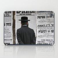 palestine iPad Cases featuring Mea Shearim Palestine by Sanchez Grande