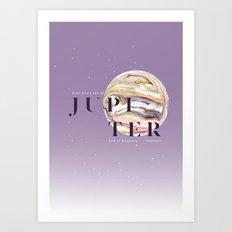 Jupiter Art Print