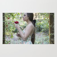fairytale Area & Throw Rugs featuring Fairytale by JadeJessicaPhotography