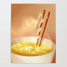 Noodle dragon Poster