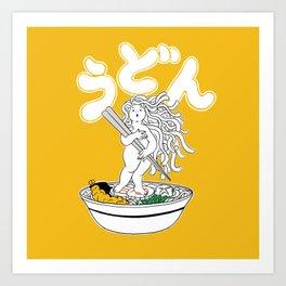 Udon Girl Art Print