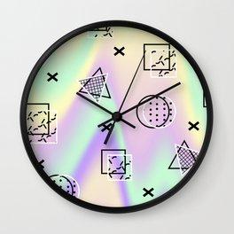 Geometricly Wall Clock