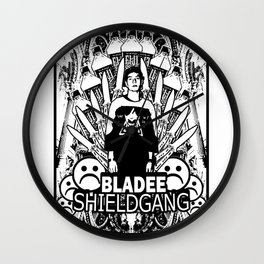 Yung Lean - Shield Gang Wall Clock