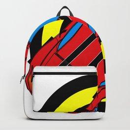 Sport car print design Backpack