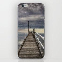 Moody skies iPhone Skin