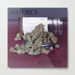 Nature's Remedy Metal Print