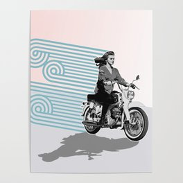 MOTO Margret Style Poster