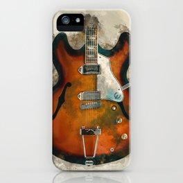 John Lennon's Electric Guitar iPhone Case