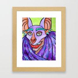 Chiroptera Framed Art Print
