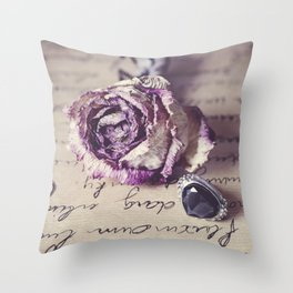 The way to your heart Throw Pillow