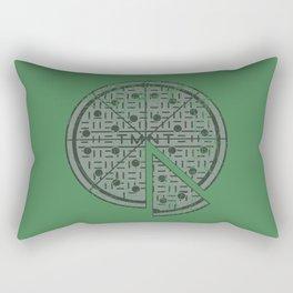 Slice of sewer life Rectangular Pillow
