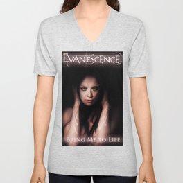 evanescence album 2020 atin2 Unisex V-Neck