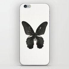 Black Butterfly iPhone & iPod Skin