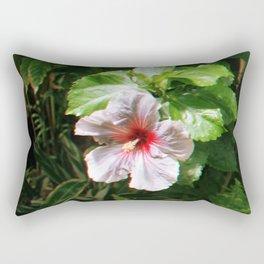 Hawaiian Flower Rectangular Pillow