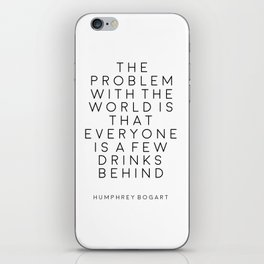 Quotes Party Decor Alcohol Gift Bar Decorations Champagne Quotes Bar Poster Champagne Sign Alcohol iPhone Skin
