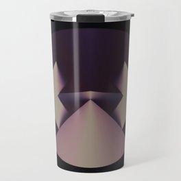 Violetly Simple Travel Mug