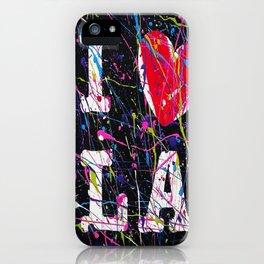I Love L.A. iPhone Case