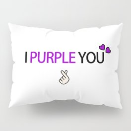 BTS i purple you Pillow Sham