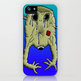 Gelatin Creature After Guillotine iPhone Case
