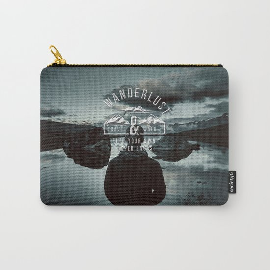 Wanderlust - Mountains and lake  - Photoadaption Carry-All Pouch