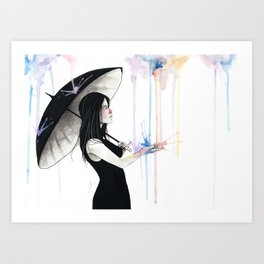 Pluviophile Art Print