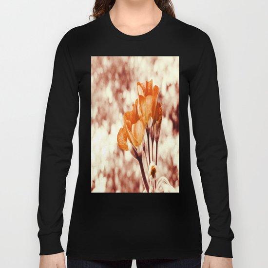 Golden Flowers Long Sleeve T-shirt