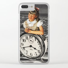 Time Zone IV Clear iPhone Case