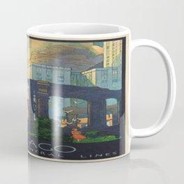 Vintage poster - Chicago Coffee Mug