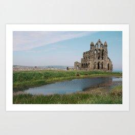 Cathedral Ruins Art Print