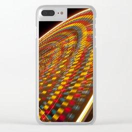 The Big Wheel - Blackpool illuminations Clear iPhone Case