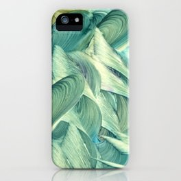 Blue Men iPhone Case