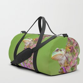 The little green frog Duffle Bag