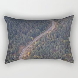 Road and Forest2 Rectangular Pillow