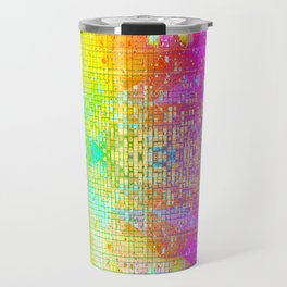 BATHROOM STRUCTURE GRADIENT Travel Mug