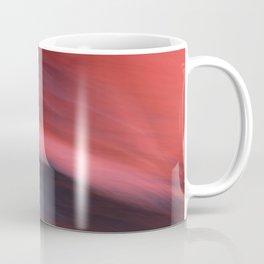 Abstract Red to Black Shades Coffee Mug