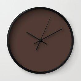 So Royally Brown Wall Clock