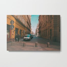 Back Alley Metal Print