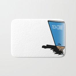 Tech vs Communication Bath Mat