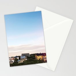 Summer night in Norway Stationery Cards